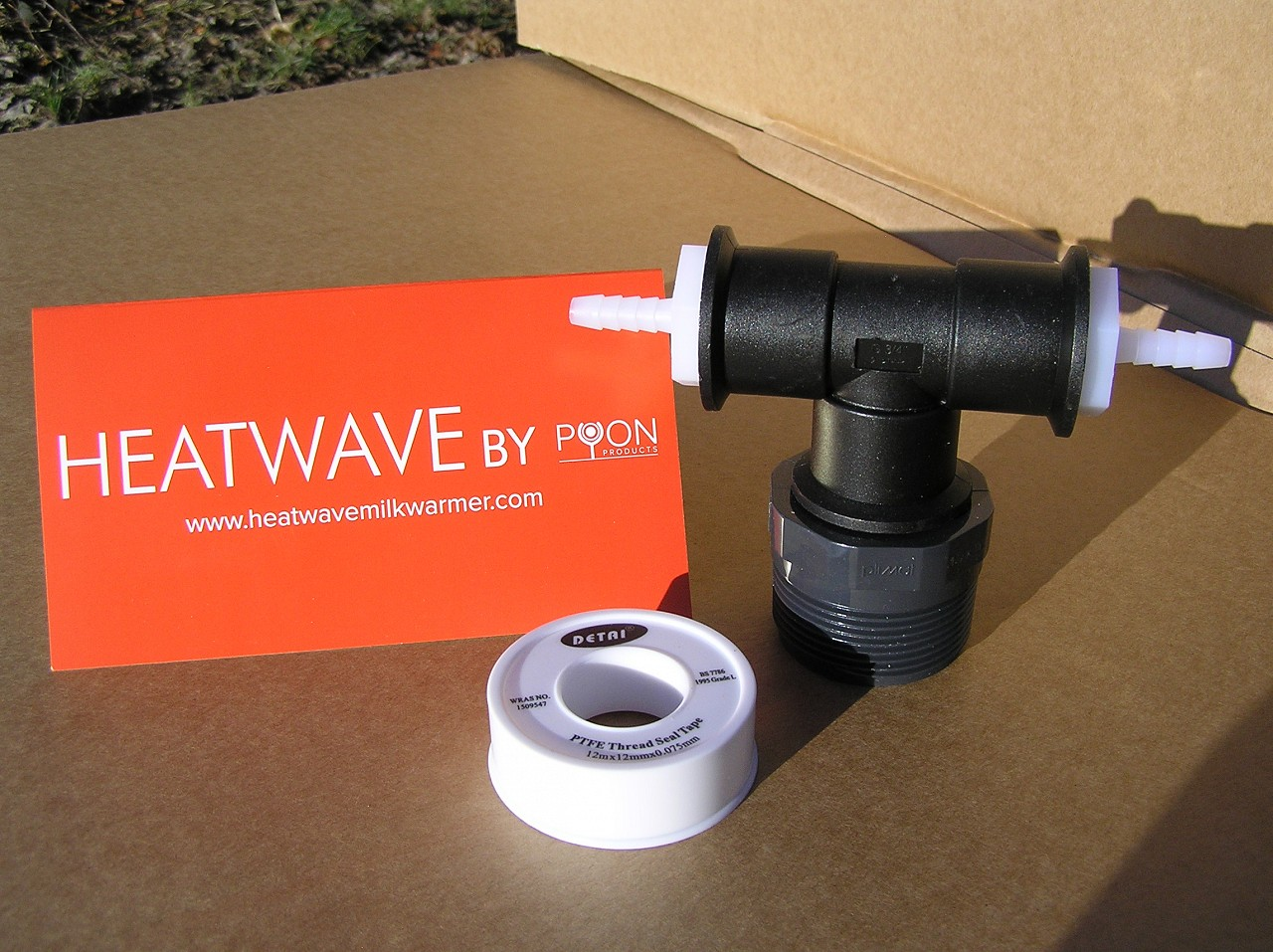 Heatwave Connector (for Wydale mixer)