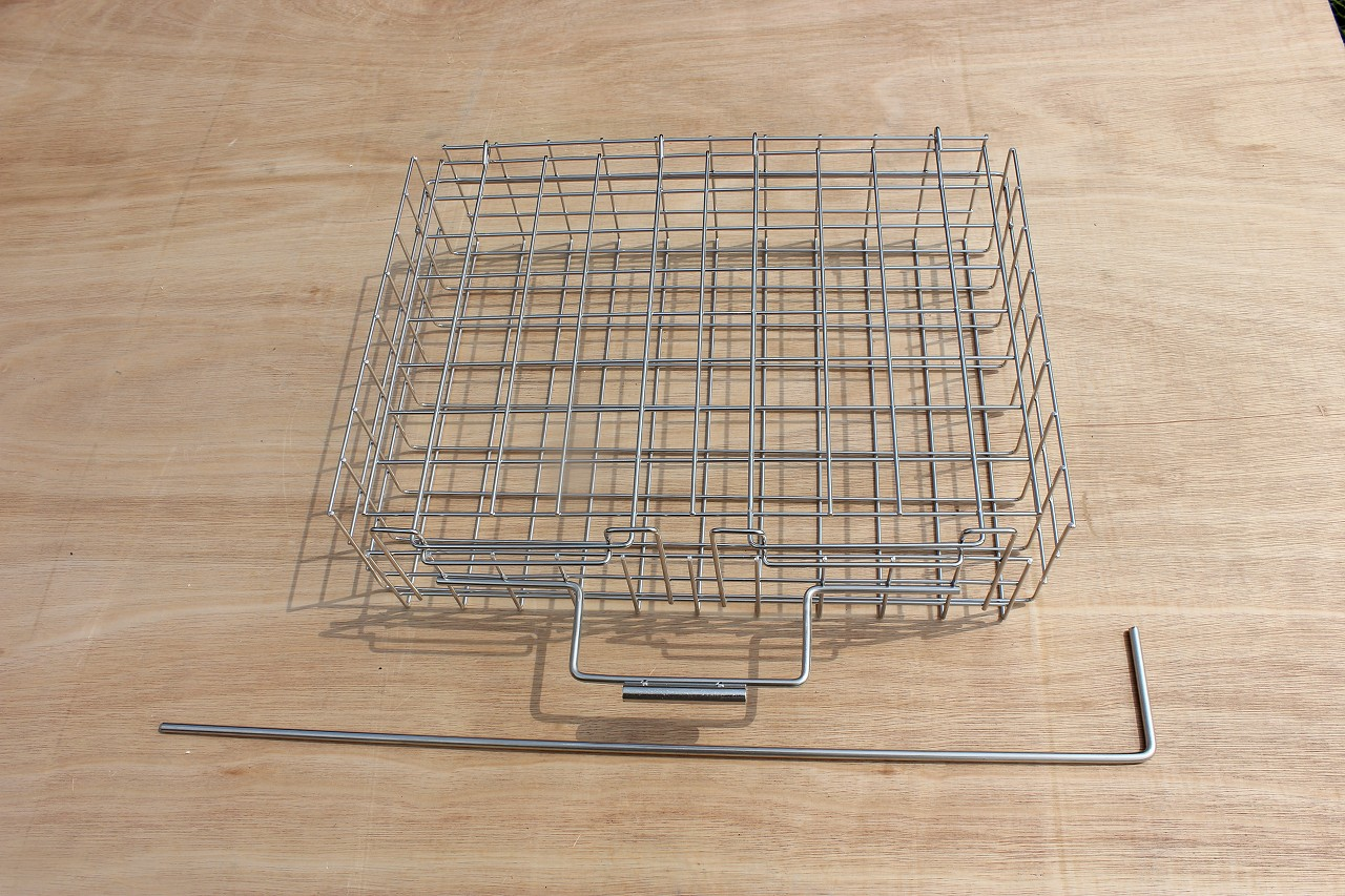 Store & Thaw St. Steel Basket (400x300x100mm)